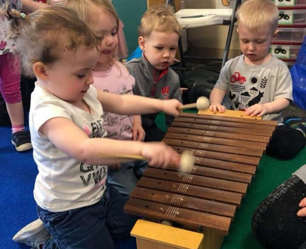 Music And Art Are Fun Ways To Express Yourself - Preschool 2 3 Years Old Serving Mount Horeb, WI